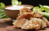 Buffalo Chicken Potstickers