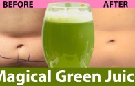 Magical Green Smoothie For Weight loss – Natural Ways To Cure Belly Fat