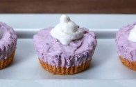 Mini No – Bake Ube Cheesecakes