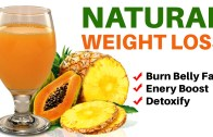 Natural Weight Loss Smoothie – Pineapple And Papaya Juice For Weight loss