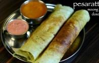 pesarattu recipe | moong dal dosa recipe | how to make pesarattu dosa