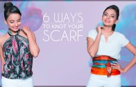 6 Unusual Ways To Wear A Scarf