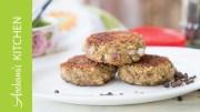 Arbi Ke Kebab Recipe  -Spicy Colocasia Kebab – By Archana's Kitchen
