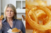 Beer – Battered Onion Rings by Martha Stewart #TastyStory