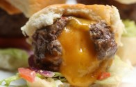 Cheese – Stuffed Burger Bombs