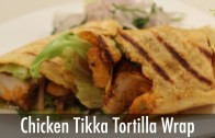 Chicken Tikka Tortilla Wrap – Sanjeev Kapoor Khazana – Snacks