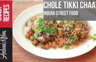 Chole Aloo Tikki Chaat Recipe – Indian Snack Recipes by Archana's Kitchen