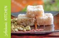 Coconut Burfi with Almonds Recipe by Archana's Kitchen