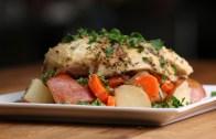 Easy Foil – Pack Lemon and Rosemary Chicken Dinner