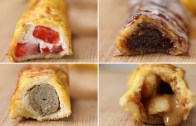 French Toast Roll – Ups 4 Ways