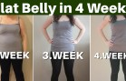 Get a Flat Belly in 4 Weeks – By Using Mint Leaves And Cucumber with Lemon and Ginger