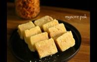 Mysore pak recipe – Easy homemade mysore pak recipe