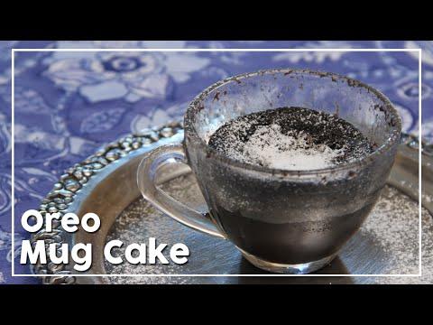 Oreo Mug Cake In Microwave – My Recipe Book By Tarika Singh