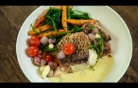 Pan Fried Red Snapper With Lemon Butter Cream Sauce – Fish Recipes – Varun Inamdar