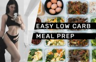 EASY LOW CARB MEAL PREP 1 (gluten free + dairy free) // Rachel Aust