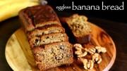 Banana bread recipe – Eggless banana bread recipe – Vegan banana bread recipe
