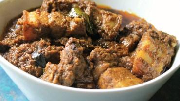 Spicy Pork Roast Recipe – Kerala Nadan Pork Roast