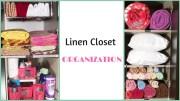 How To Organize A Small Linen Closet – Linen Closet Organization