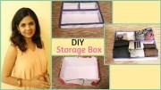 DIY Storage Box – Step By Step Tutorial