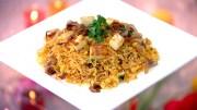 Chat Pada Paneer Pulav & Chilli Soya Pepper Fry Recipe