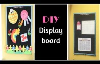 DIY Display Board – Easy Way Of Making Pinboard At Home