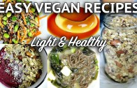 EASY VEGAN RECIPES FOR SPRING – SUMMER – light & healthy