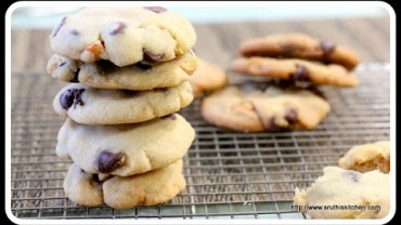 Eggless Chocolate Chip Cookies – Eggless Baking with and without oven