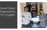 Small Shared Closet Organization For Couples – Siblings – Hostel Mates – Simplify Your Space