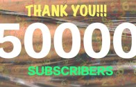 THANK YOU FOR 50K SUBSCRIPTIONS