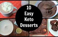 10 Easy Keto Desserts – Low Carb Dessert Recipes & Ideas