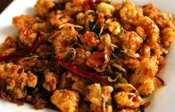 Spicy garlic fried chicken – Kkanpunggi: 깐풍기