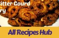 Bitter Gourd Fry – how to make bitter gourd fry – pavakkai fry