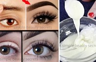 Homemade Gel To Grow Thicker Eyebrows & EyeLashes in Just 3 Days – Guaranteed Results 100% Effective