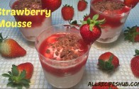 Strawberry Mousse Recipe | How to make Strawberry mousse