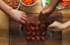 BBQ Bacon Ice Tray Meatballs
