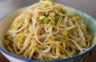 Mung bean sprout side dish – Sukjunamul-muchim – 숙주나물무침