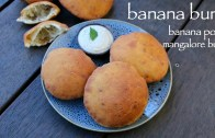 banana buns recipe – mangalore buns recipe – banana puri recipe