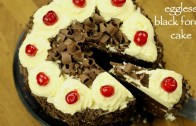 black forest cake recipe – how to make easy eggless black forest cake recipe