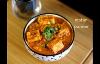 matar paneer recipe – restaurant style matar paneer – how to make matar paneer