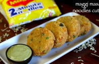noodles cutlet recipe – maggi masala noodles cutlet – veg noodles cutlet