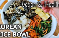 "VEGAN KIMBAP – GIMBAP BOWL – KOREAN ""SUSHI"" RICE BOWL"