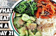 WHAT I EAT IN A DAY – 21 VEGAN bibimbap – 12 – 30 Videos in 30 Days – Cheap Lazy Vegan