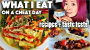 What I Eat on a CHEAT Day – VEGAN RAMEN, BBQ TACOS, etc