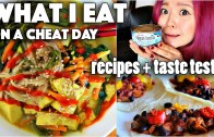 What I Eat on a CHEAT Day – VEGAN RAMEN, BBQ TACOS, etc