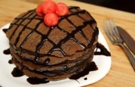 Chocolate Pancake – Eggless Pancake Recipe – Ruchi's Kitchen