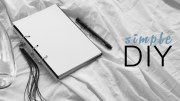 DIY Combined Diary + Planner Notebook – Rachel Aust