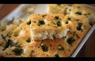 Homemade Focaccia Bread  – Italian Bread Recipe – Divine Taste With Anushruti