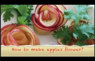 How to make apple flowers – Apple flowers – CookeryShow