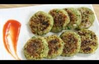 Moong Dal Tikki Recipe – Green Gram Patty – Indian Snacks Recipe – Snacks Recipes | Ruchi Bharani