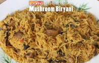 Mushroom Biryani Recipe – How to make Mushroom Biryani in Pressure Cooker